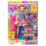 Muñeca Patinadora De Videojuegos Barbie Mattel.