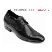 Giorgio Negro 7cm De Altura Zapatos Hombre Formal. Novio