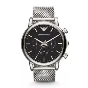 bc24f3098d2 Relogio Emporio Armani Ar5952 Black Masculino - Relógios De Pulso no ...
