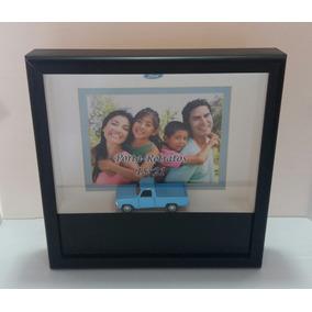 Porta Retrato Com Miniatura Caminhonet Ford Antiga F1000