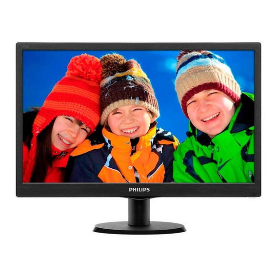 Monitor Philips 193v5lhsb 19in Lcd Smartcontrol Lite Pce
