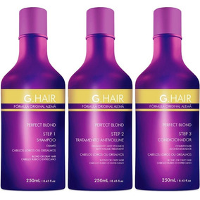 Inoar Ghair Alemã Perfect Blond ( 1 Kit 3x250ml ) G Hair