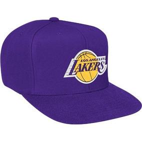 7b6d6954ef1c1 Logotipo Básico De Los Ángeles Lakers Snap Back Hat