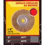 Cepillo Circular De Bronce 6 Black Jack J472