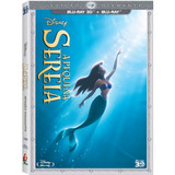 Blu-ray 3d + Bluray A Pequena Sereia - Disney Duplo Original