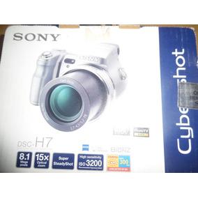Camara Sony Dsc-h7 8.1 Mega Pixels