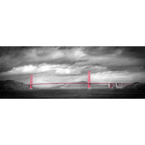 Poster Fotografía Arte Puente Golden Gate 32 X 90 Cm