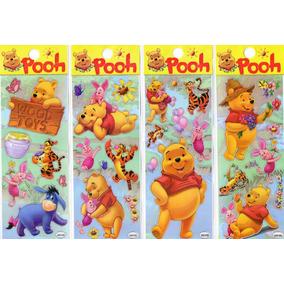 20 Planchas De Stickers Winnie Pooh