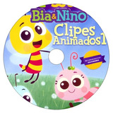 3 Dvds - Mpbaby - Bia & Nino Clipes Animados 1, 2 E 3