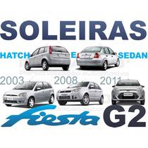 Soleiras Super Protetoras Fiesta G2 Hatch Ou Sedan