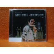 Michael Jackson The Best Of Live - Cd Lacrado