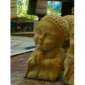 Figura De Yeso. Baby Buda. Mide Aprox 11 Cm