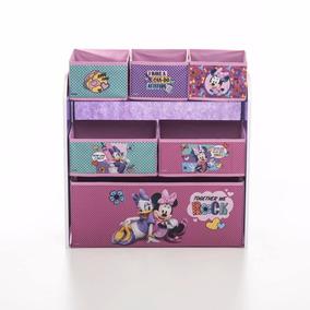Organizador Infantil Con 6 Cajones De Tela Personajes Disney