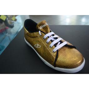 Zapato Deportivo Dama Tabbuche Color Bronce