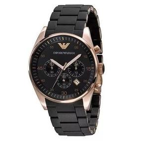 a979b8287e8 Relógio Emporio Armani Slim Com Aço Rose - Relógios De Pulso no ...