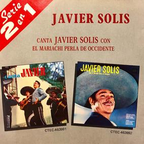 Cd Javier Solis Con El Mariachi Perla De Occidente 2 En 1