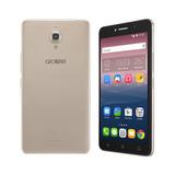 Smartphone Alcatel Pixi4 Dourado Tela 6 3g 8gb 8050e