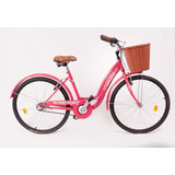 Bicicleta Vintage Dama Paseo R26 3v Topmega Flower + Armado