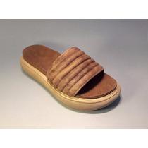 Sandalia Cuero Linea Anetta Zapatos De Mujer Prim. Verano