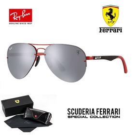 0c4b275474f79 Ray Ban Ferrari 3460 Troca Lentes C  Garantia Envio Em 24h