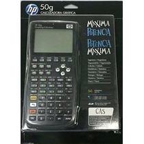 Calculadora Grafica H P 50g - Lacrada Original