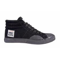 Tenis Sneakers Skateboard Vision Street Wear Negro (9 Mex)