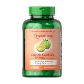 Garcinia Cambogia Extracto Corteza 1000 Mg 50% Hca 120 Capsu