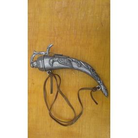Cuerno Para Polvora Rifle Pistola Mosqueta Medieval