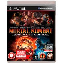 Mortal Kombat Komplete Edition Ps3 Código Psn Original!