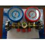 Juego De Manometros Para Refrigeración Articos R22-r134a