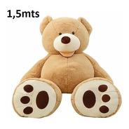 Urso Enorme Fofo Gigante Teddy Bear Pelúcia 1,5 Mts - 150 Cm