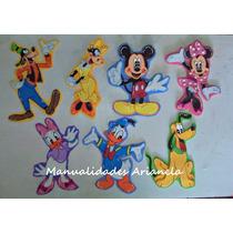 Figuras De Mickey Y Sus Amigos En Foami De 15 Cm
