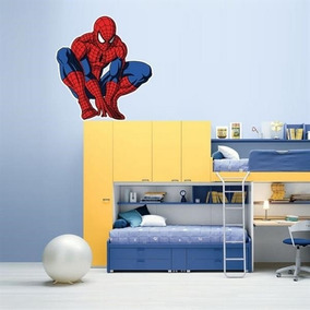 Adesivo De Parede Infantil Homem Aranha Mod.8 - P 46x50cm