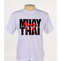 Camisa Camiseta Personalizada Muay Thai Mma Ufc Academia