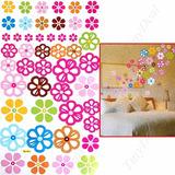 Vinil Sticker Decorativo Habitacion Niñas Flores