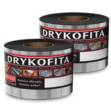 Kit Fita Multiuso Auto Adesiva Alumínio 15cm X 10m Dryko