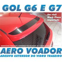 Aero Voador Adesivo Black Piano Gol G6 Novo Gol G7