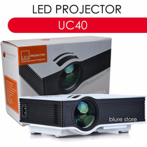 Projetor Data Show Profissional 800lumens Slides Letras Uc40
