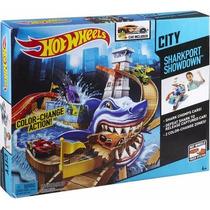 Pista Hot Wheels Ataque Do Tubarão - Mattel Bgk04