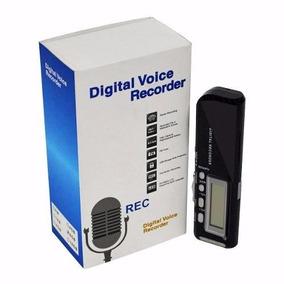 Gravador De Voz Digital Microfone 8gb Mp3 Player