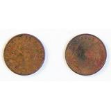 2 Monedas De Colección De México 10 Centavos De 1966 Y 1967