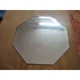 Espelho Bisotado - 25 Cm X 25 Cm - Década De 50