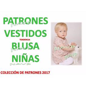 47bec67b1 Patrones Vestidos Y Blusas De Niñas Bebe Coleccion 2017 Moda