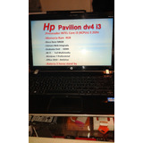 Notebook Hp Dv4 Intel .i3 Impecable Fotos Reales
