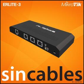 Ubiquiti Edgerouter 3 Ptos Gigabit, Cpu Dual-core 500mhz 512