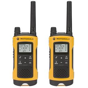Motorola T400br Radio De Comunicação Talkabout Amarelo