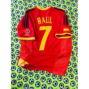 Jersey Camiseta adidas Seleccion De España Mundial 2002 Raul 333432c1b8924