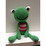 Rana 24 Cm Amigurumi Tejido Crochet Amigurumis