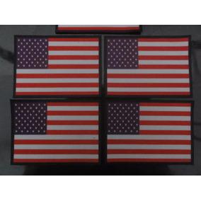 Patch Bandeira Dos Estados Unidos 5,5 Altura X 8 Comp