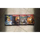 4 Juegos Originales Playstation 2,buen Estado Y Baratos